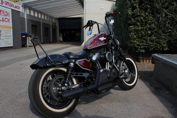 Design-Sonderlackierung Harley-Davidson